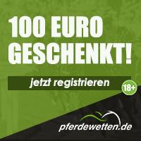 pferdewetten.de - Jetzt 100% EInzahlungsbonus
